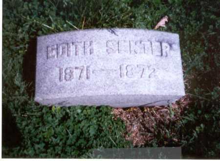 SENTER, EDITH E. - Franklin County, Ohio | EDITH E. SENTER - Ohio Gravestone Photos