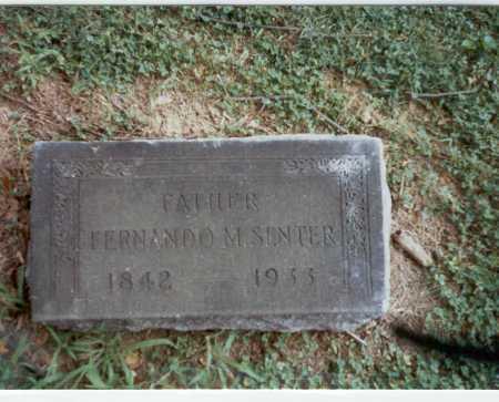 SENTER, FERNANDO - Franklin County, Ohio | FERNANDO SENTER - Ohio Gravestone Photos