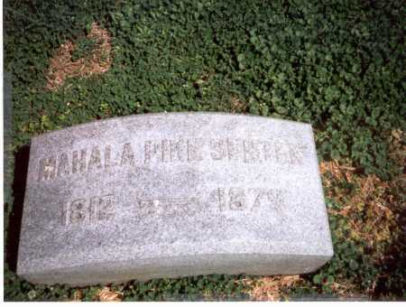 SENTER, MAHALA - Franklin County, Ohio   MAHALA SENTER - Ohio Gravestone Photos