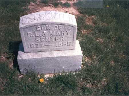 SENTER, O. J. - Franklin County, Ohio   O. J. SENTER - Ohio Gravestone Photos