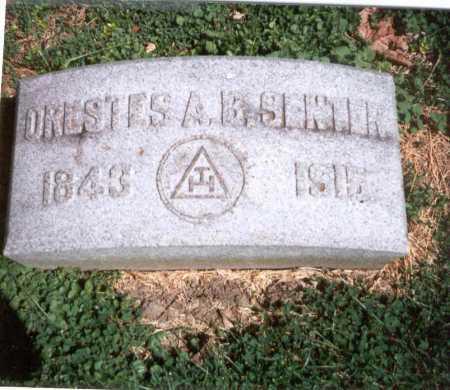 SENTER, ORESTES A.B. - Franklin County, Ohio | ORESTES A.B. SENTER - Ohio Gravestone Photos