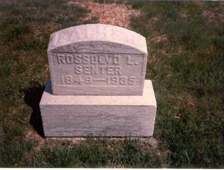 SENTER, ROSSOLVO L. - Franklin County, Ohio | ROSSOLVO L. SENTER - Ohio Gravestone Photos