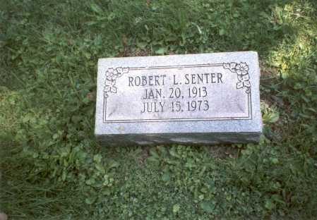 SENTER, ROBERT L. - Franklin County, Ohio | ROBERT L. SENTER - Ohio Gravestone Photos