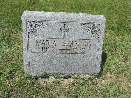 SEREINIG, MARIA - Franklin County, Ohio | MARIA SEREINIG - Ohio Gravestone Photos