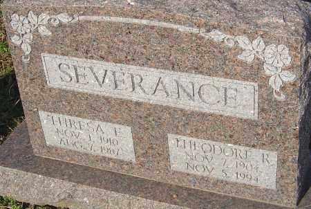 SEVERANCE, THEODORE - Franklin County, Ohio | THEODORE SEVERANCE - Ohio Gravestone Photos