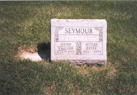 SEYMOUR, WILLIAM - Franklin County, Ohio   WILLIAM SEYMOUR - Ohio Gravestone Photos