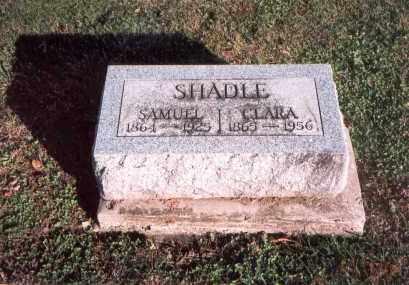 SHADLE, CLARA - Franklin County, Ohio | CLARA SHADLE - Ohio Gravestone Photos