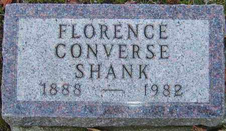 SHANK, FLORENCE - Franklin County, Ohio | FLORENCE SHANK - Ohio Gravestone Photos