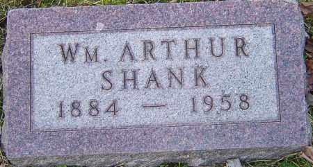SHANK, WILLIAM ARTHUR - Franklin County, Ohio   WILLIAM ARTHUR SHANK - Ohio Gravestone Photos