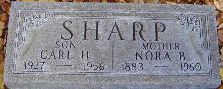 SHARP, NORA B - Franklin County, Ohio | NORA B SHARP - Ohio Gravestone Photos