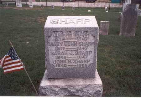 SHARP, SARAH J. - Franklin County, Ohio | SARAH J. SHARP - Ohio Gravestone Photos