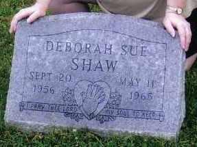 SHAW, DEBORAH SUE - Franklin County, Ohio | DEBORAH SUE SHAW - Ohio Gravestone Photos