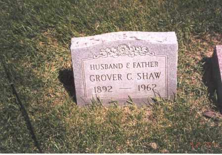 SHAW, GROVER C. - Franklin County, Ohio | GROVER C. SHAW - Ohio Gravestone Photos