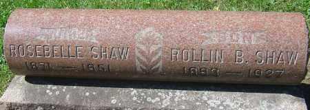 SHAW, ROSEBELLE - Franklin County, Ohio | ROSEBELLE SHAW - Ohio Gravestone Photos