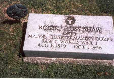 SHAW, ROBERT ROSS - Franklin County, Ohio   ROBERT ROSS SHAW - Ohio Gravestone Photos