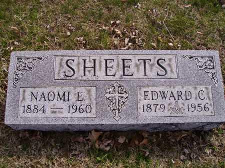 SHEET, EDWARD C. - Franklin County, Ohio | EDWARD C. SHEET - Ohio Gravestone Photos