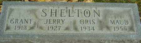 SHELTON, MAUD - Franklin County, Ohio   MAUD SHELTON - Ohio Gravestone Photos