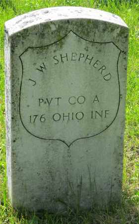 SHEPHERD, J. W. - Franklin County, Ohio | J. W. SHEPHERD - Ohio Gravestone Photos