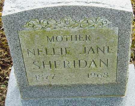 SHERIDAN, NELLIE JANE - Franklin County, Ohio   NELLIE JANE SHERIDAN - Ohio Gravestone Photos