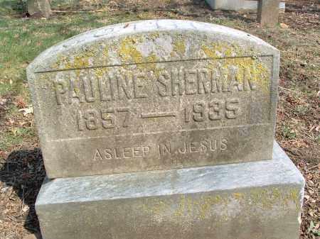 SHERMAN, PAULINE - Franklin County, Ohio   PAULINE SHERMAN - Ohio Gravestone Photos