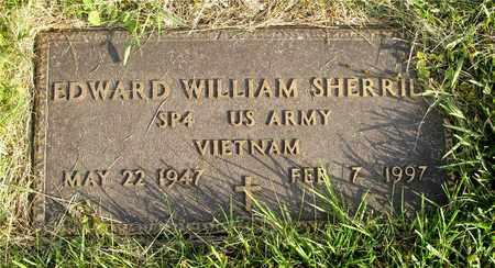 SHERRILL, EDWARD WILLIAM - Franklin County, Ohio   EDWARD WILLIAM SHERRILL - Ohio Gravestone Photos