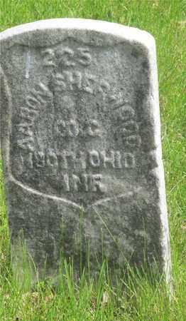 SHERWOOD, AARON - Franklin County, Ohio | AARON SHERWOOD - Ohio Gravestone Photos