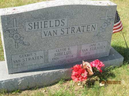 SHIELDS, CLYDE R - Franklin County, Ohio | CLYDE R SHIELDS - Ohio Gravestone Photos