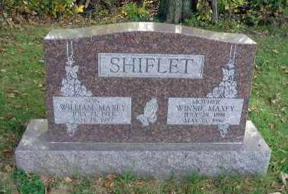 SHIFLET, WILLIAM MAXEY - Franklin County, Ohio | WILLIAM MAXEY SHIFLET - Ohio Gravestone Photos