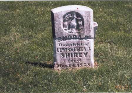 SHIREY, RHODA E. - Franklin County, Ohio   RHODA E. SHIREY - Ohio Gravestone Photos
