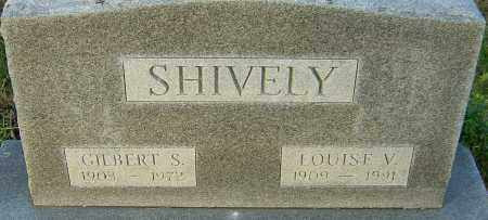 SHIVELY, LOUISE - Franklin County, Ohio | LOUISE SHIVELY - Ohio Gravestone Photos