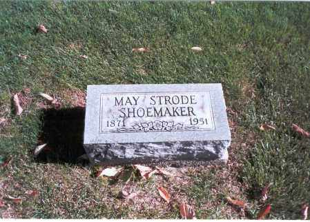 STRODE SHOEMAKER, MAY - Franklin County, Ohio   MAY STRODE SHOEMAKER - Ohio Gravestone Photos
