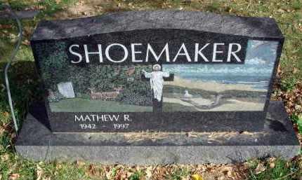 SHOEMAKER, MATHEW R. - Franklin County, Ohio | MATHEW R. SHOEMAKER - Ohio Gravestone Photos