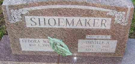 SHOEMAKER, ORVILLE - Franklin County, Ohio | ORVILLE SHOEMAKER - Ohio Gravestone Photos