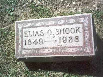 SHOOK, ELIAS O. - Franklin County, Ohio | ELIAS O. SHOOK - Ohio Gravestone Photos