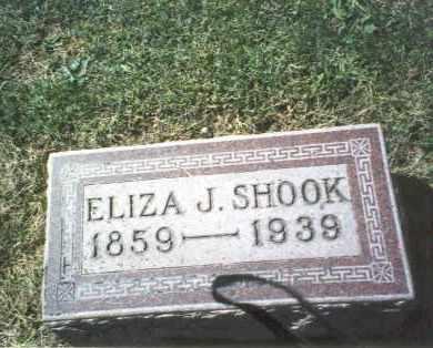 SHOOK, ELIZA J. - Franklin County, Ohio   ELIZA J. SHOOK - Ohio Gravestone Photos