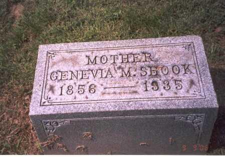 RAREY SHOOK, GENEVIA M. - Franklin County, Ohio | GENEVIA M. RAREY SHOOK - Ohio Gravestone Photos
