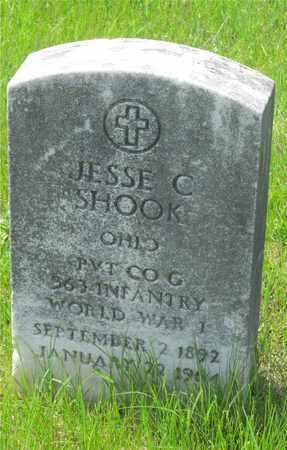 SHOOK, JESSE C. - Franklin County, Ohio | JESSE C. SHOOK - Ohio Gravestone Photos