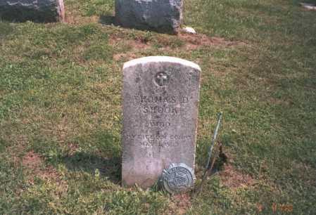 SHOOK, THOMAS D. - Franklin County, Ohio | THOMAS D. SHOOK - Ohio Gravestone Photos