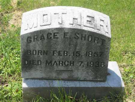 SHORT, GRACE E. - Franklin County, Ohio | GRACE E. SHORT - Ohio Gravestone Photos