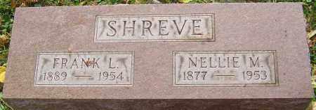 SHREVE, NELLIE M - Franklin County, Ohio | NELLIE M SHREVE - Ohio Gravestone Photos