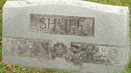 SHUFF, GEORGE - Franklin County, Ohio | GEORGE SHUFF - Ohio Gravestone Photos