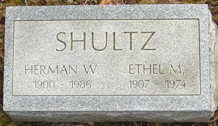 SHULTZ, ETHEL M - Franklin County, Ohio | ETHEL M SHULTZ - Ohio Gravestone Photos