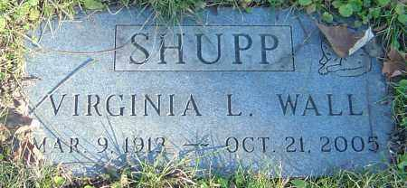 SHUPP, VIRGINIA L - Franklin County, Ohio | VIRGINIA L SHUPP - Ohio Gravestone Photos