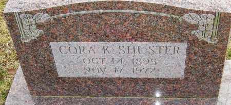 SMILEY SHUSTER, CORA K - Franklin County, Ohio | CORA K SMILEY SHUSTER - Ohio Gravestone Photos