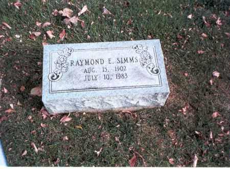 SIMMS, RAYMOND E. - Franklin County, Ohio   RAYMOND E. SIMMS - Ohio Gravestone Photos