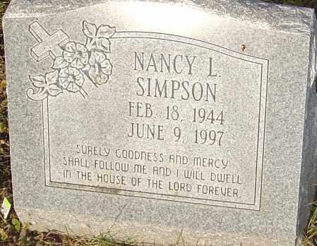 BLAKE SIMPSON, NANCY - Franklin County, Ohio | NANCY BLAKE SIMPSON - Ohio Gravestone Photos