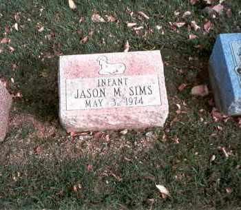 SIMS, JASON M. - Franklin County, Ohio | JASON M. SIMS - Ohio Gravestone Photos