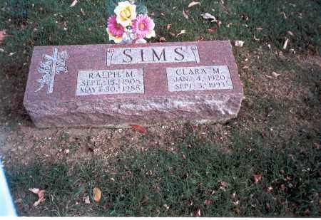 SIMS, RALPH M. - Franklin County, Ohio   RALPH M. SIMS - Ohio Gravestone Photos