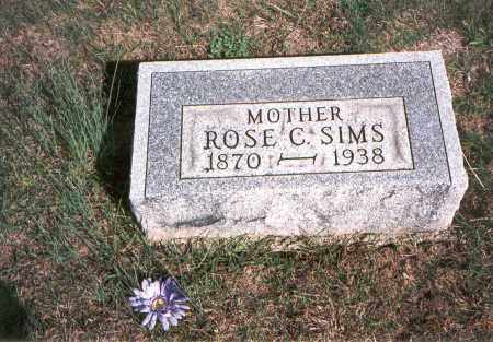 SAYLOR SIMS, ROSE CATHERINE - Franklin County, Ohio   ROSE CATHERINE SAYLOR SIMS - Ohio Gravestone Photos