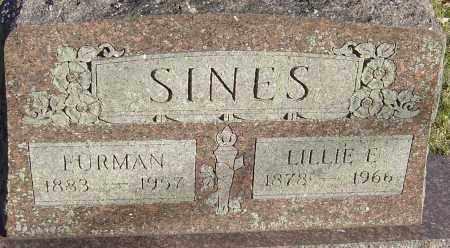 SINES, FURMAN - Franklin County, Ohio | FURMAN SINES - Ohio Gravestone Photos